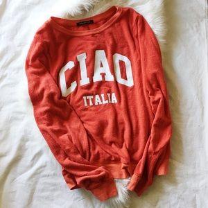 Wildfox Ciao Italia Jumper